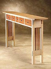Prairie Sofa Table by Chris Horney (Wood Sofa / Hall Table)