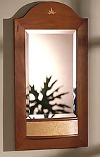 Luna Mirror by Chris Horney (Wood Mirror)