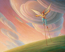 Learning to Fly II by Mark Bryan (Giclée Print)