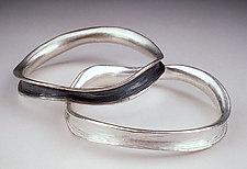 Horn Bangle by Dahlia Kanner (Silver Bracelet)