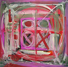 Tic Tac by Lynne Taetzsch (Acrylic Painting)