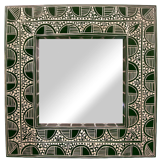 Square Frame Mirror