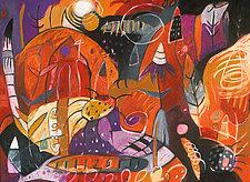 Red Night by Teresa Cox (Giclee Print)