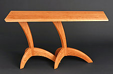 Egret Hall Table by Seth Rolland (Wood Hall Table)