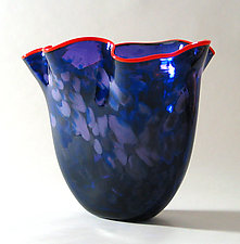 BMW Vase by Suzanne Guttman (Art Glass Vase)