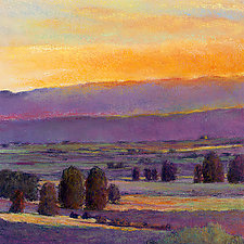 Evening Colors by Ken Elliott (Giclee Print)