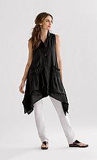 Flyaway Vest by Heydari  (Linen Vest)