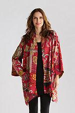 Two-Layer A-Line Jacket by Mieko Mintz  (Cotton Jacket)