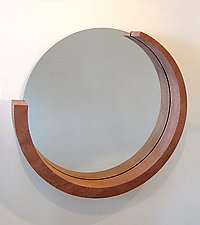 Enso Mirror by Richard Judd (Wood Mirror)