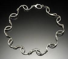 HalfCirc Necklace by Lisa Slovis (Silver Necklace / Bracelet)