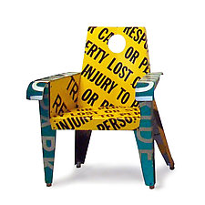 Not Responsible Broadway Armchair by Boris Bally (Metal Chair)