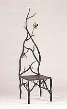 Autumn's Throne by Rachel Miller (Steel & Copper Chair)