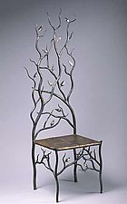 Spring's Throne by Rachel Miller (Steel & Copper Chair)