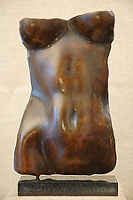 Torsolino: Brown Patina Finish by Gerald Siciliano (Bronze Sculpture)