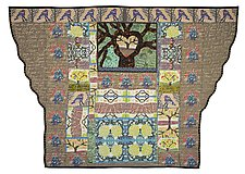 Trees are Good for You by Therese May (Fiber Wall Hanging)
