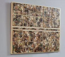 Earth Energy by Kristi Sloniger (Ceramic Wall Art)