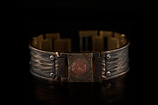 Watchcraft Unisex Hand Crafted Bracelet by Eduardo Milieris (Brass Bracelet)