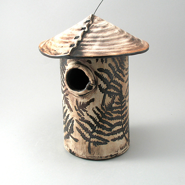 Fern Leaf Bird House