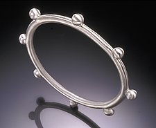 '8' Bangle by Eva Seid (Sterling Silver Bracelet)