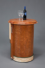 Portable Bar by William Robbins (Wood Bar)