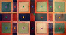 """Lattice"" by Patricia Dreher (Canvas Floorcloth)"