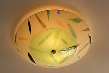 Bamboo: Ceiling by Joan Bazaz (Glass Ceiling Light)