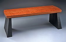 Bench by David Kiernan (Wood Bench)
