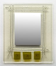Trinity by Richard Altman (Art Glass Mirror)