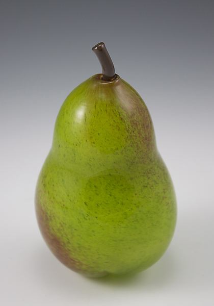 Green Pear Paperweight