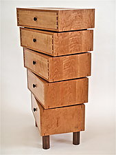 Stacked-Box Dresser by Todd  Bradlee (Wood Dresser)