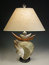 Feather Light by Jan Jacque (Ceramic Table Lamp)
