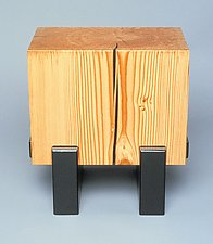 Rectangled for Square by Brad Reed Nelson (Wood Side Table)