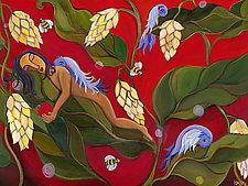 Birds and Bees by Katharina Magdalena Short (Giclee Print)