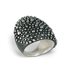 Bumpy Armor Ring by Dahlia Kanner (Silver Ring)