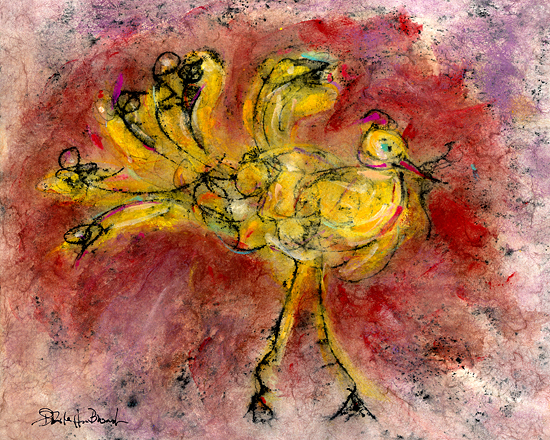 """Yellow Bird #1"""