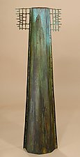 Smokestack Vase by David M Bowman and Reed C Bowman (Brass Vessel)