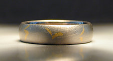 Inlayed Band by Jim Dailing (Gold Ring)