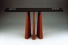 Presentation Table by David Kiernan (Wood Hall Table)