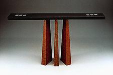 Presentation Table by David Kiernan (Wood Hall Table)