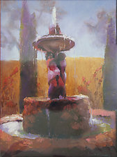 Tuscany by Cathy Locke (Pastel Painting)