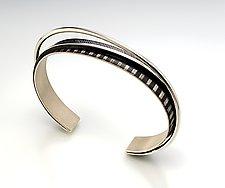 Slant Ring Bracelet by Theresa Carson (Silver Bracelet)