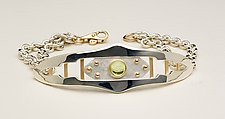 Gothic Ladder Bracelet by Linda Smith (Silver & Stone Bracelet)