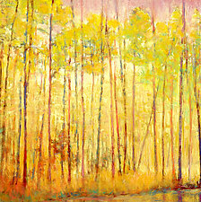 Yellow Curtain by Ken Elliott (Giclée Print)