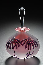 Cone Flower by Mary Angus (Art Glass Perfume Bottle)