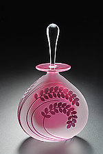 Fern by Mary Angus (Art Glass Perfume Bottle)