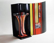 Celebration by Colleen Gyori (Art Glass Sculpture)