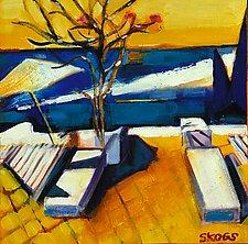 Punta Banderas by Joan Skogsberg Sanders (Acrylic Painting)