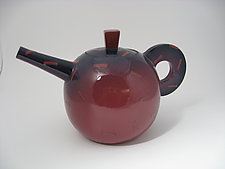 Big Red by Lori Katz (Ceramic Teapot)