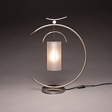 Osaka Lamp by Ken Girardini and Julie Girardini (Metal Desk Lamp)