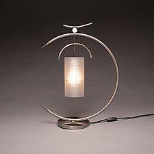 Osaka Lamp by Ken Girardini and Julie Girardini (Metal Desk Lamp)